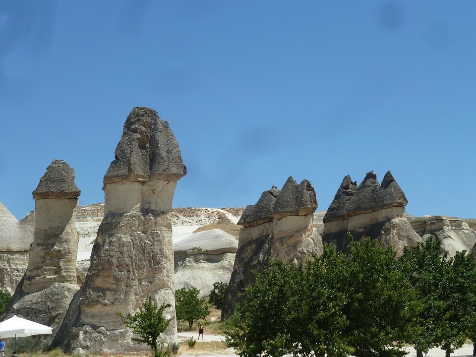 Fireplaces, Cappadocia, Turkey, Pierre