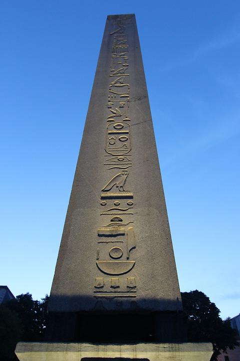 Obelisk, Hieroglyphs, Egypt, Egizio, Turkey, Istanbul