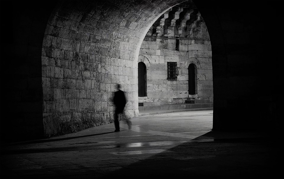 Tunnel, Light, Architectural, Eminönü, Istanbul, Turkey