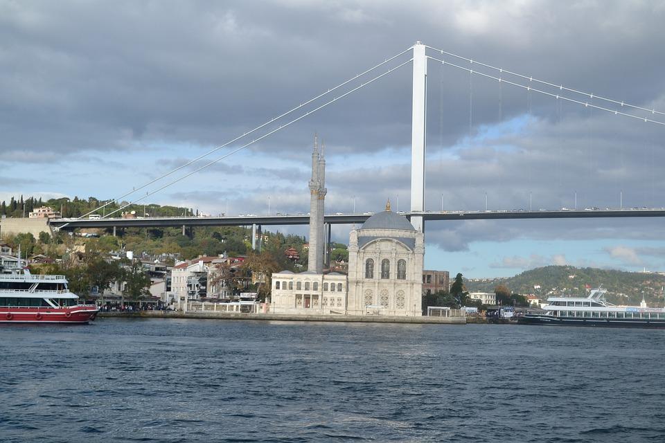 Faisalabad, Ortaköy Mosque, Turkey Istanbul Sea Sea