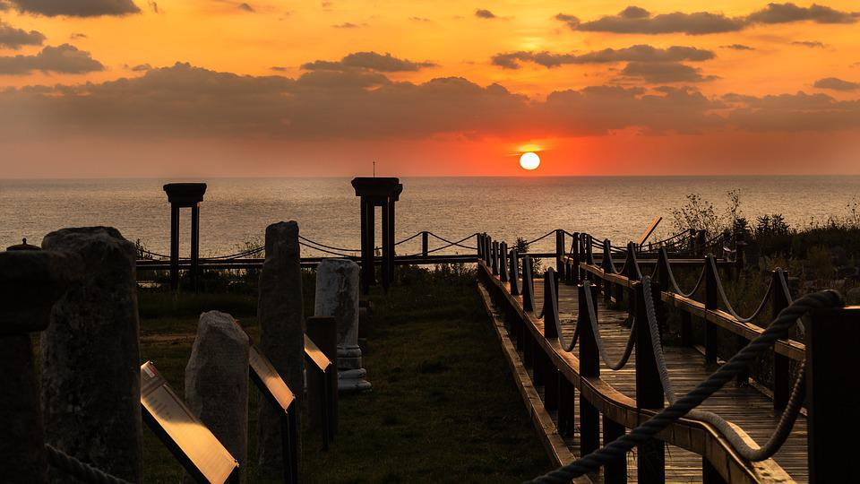 Ancient City Of Teos, Turkey, Solar, Marine, Landscape