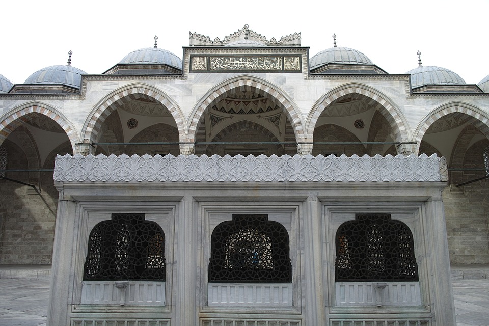 Süleymaniye, Cami, Minaret, Istanbul, Turkey