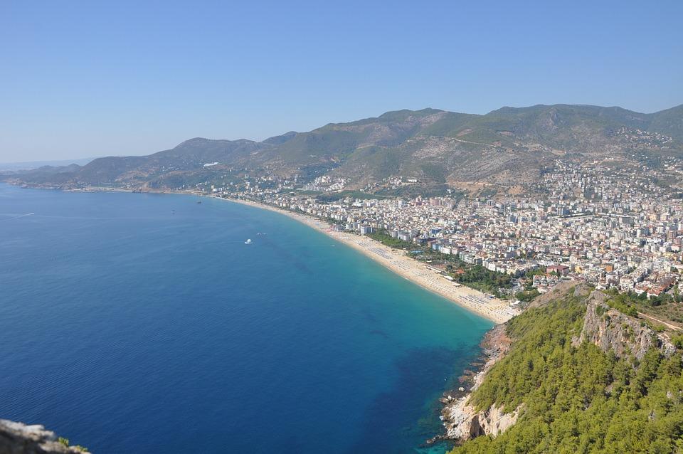 Alanya, Cleopatra, Beach, Shoreline, Resort, Turkey