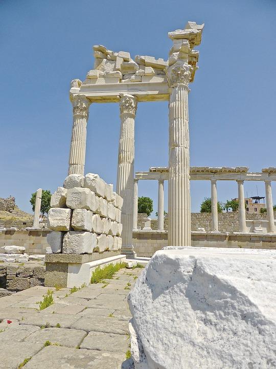 Bergama, Ruins, Turkey, Landmark, Ancient, Heritage