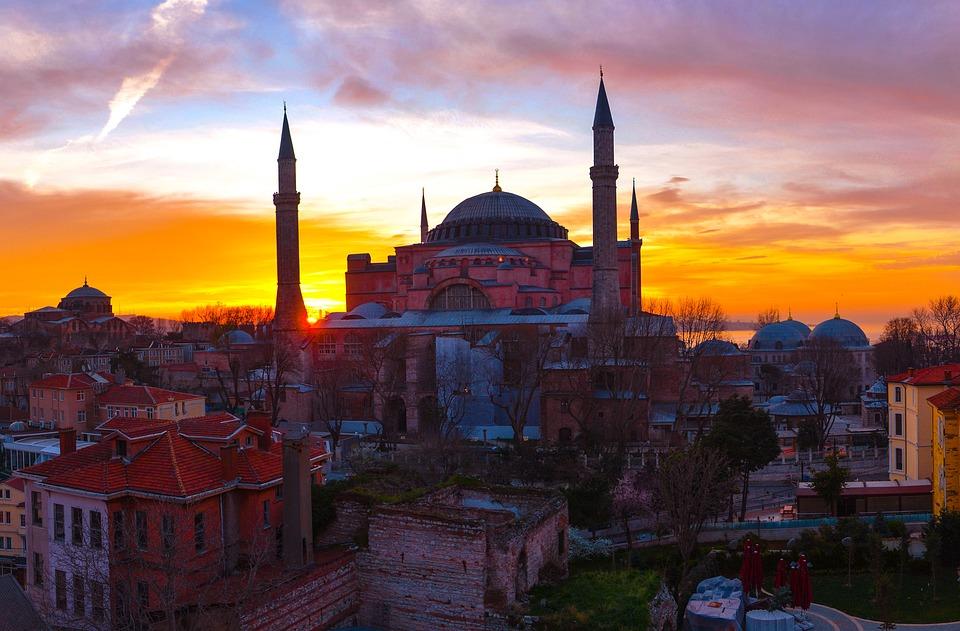 Istanbul, Cami, Turkey, Travel, Sunset