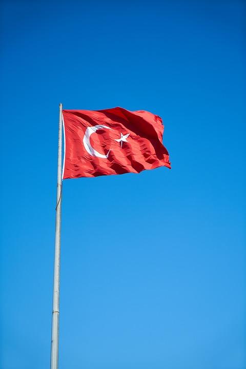 Flag, Turkish, Red, White, Wind, Turkey, Turkish Flag