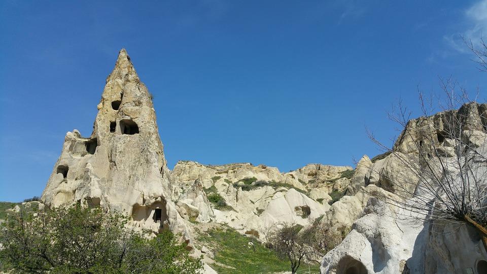 Turkey, Cappadocia, Rocky, Valley