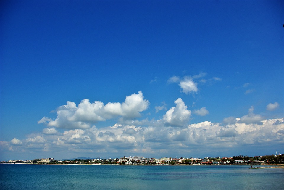 Holiday, Turkey, Sky, Clouds, Sea, Water