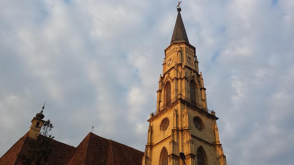 Church, Europe, Cluj, Turn
