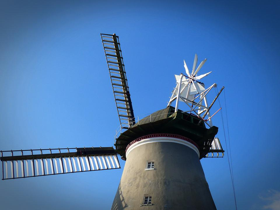 Pinwheel, Mill, Old, Windmill, Wing, Turn, Historically