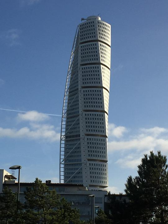 Malmö, Landmark, Sweden, Turning Torso