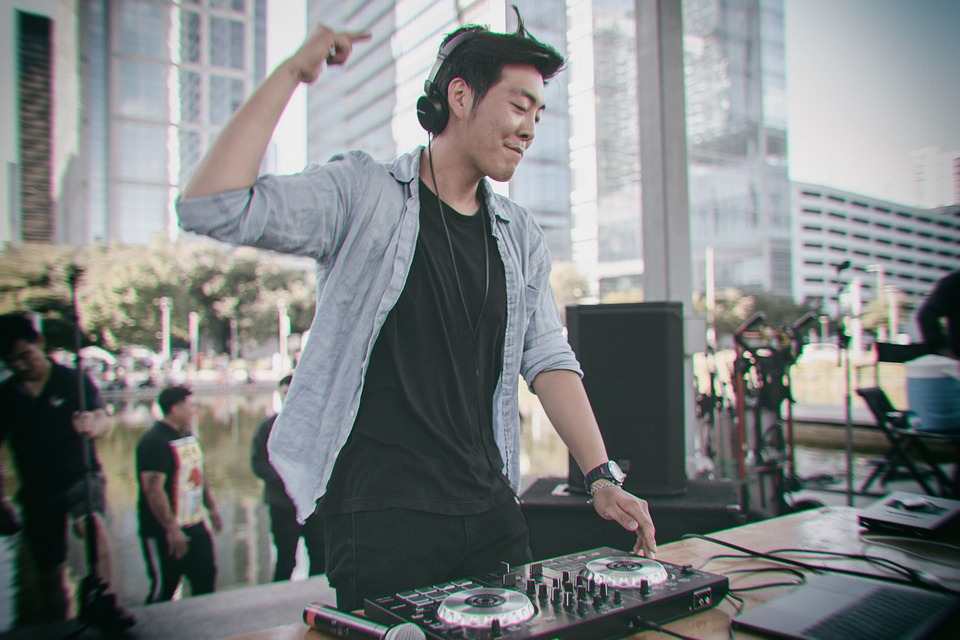 Dj, Music, Audio, Sound, Equipment, Mixer, Turntable