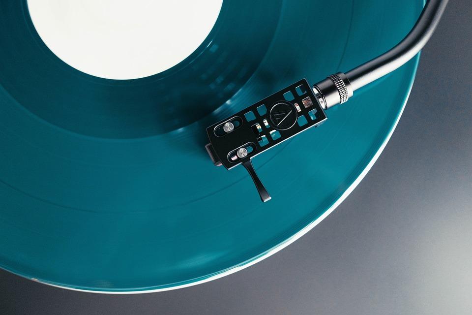 Turntable, Vinyl, Record, Album, Music