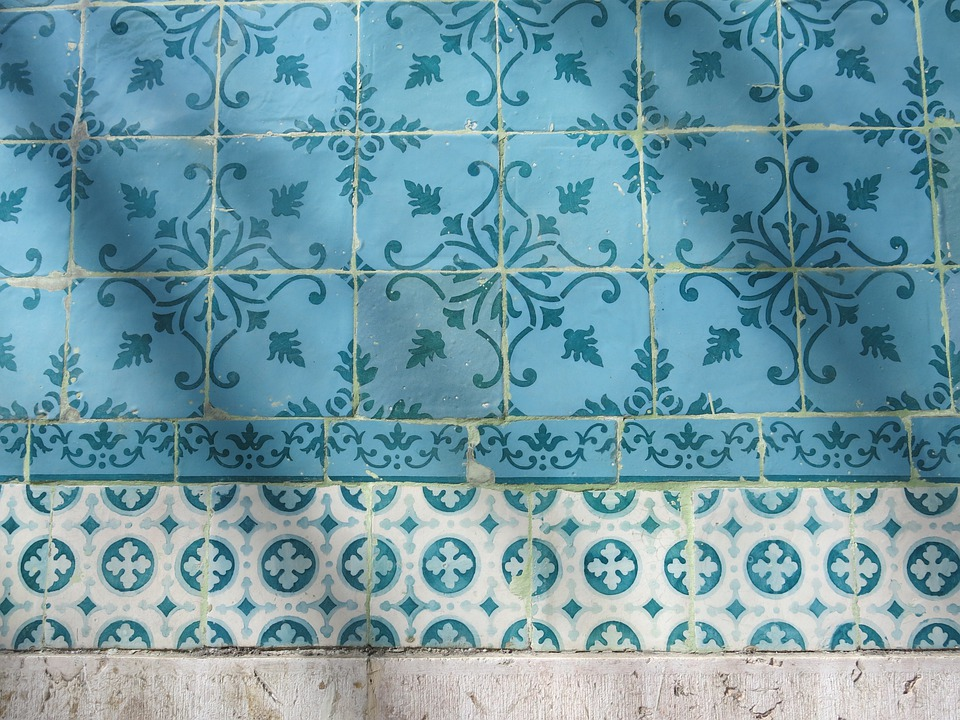 Tiles, Turquoise, Pattern, Azulejos, Portugal, Tile