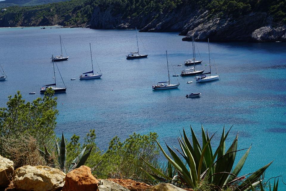 Ibiza, Sea, Booked, Spain, Turquoise, Balearic Islands