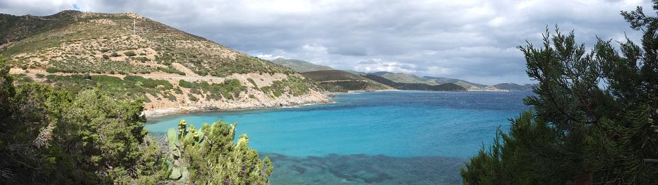 Booked, Sardinia, Cala Regina, Panorama, Turquoise