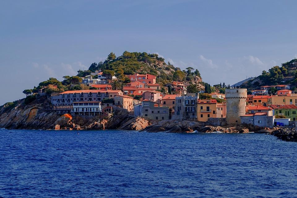 Elba, Island, Mediterranean, Tuscan Archipelago
