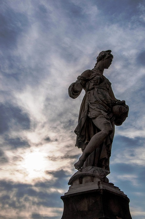 Florence, Statue, Italy, Art, History, Tuscany