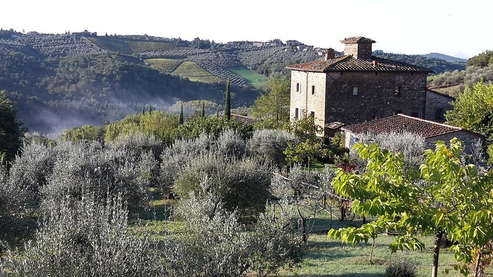 Tuscany, Landscape, Hill, Italy, Toscana, Panorama