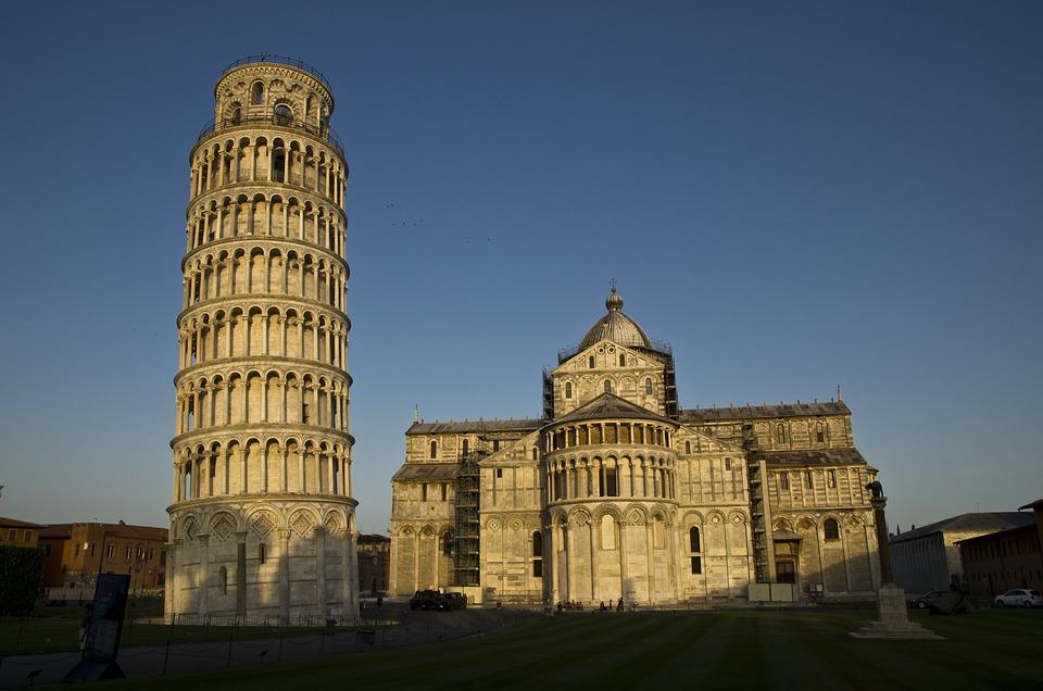 Pisa, Campanile, Leaning Tower, Italy, Tuscany
