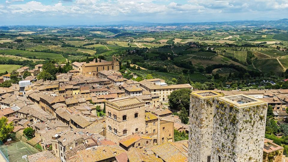 San Gimignano, Italy, Tuscany, City, Middle Ages