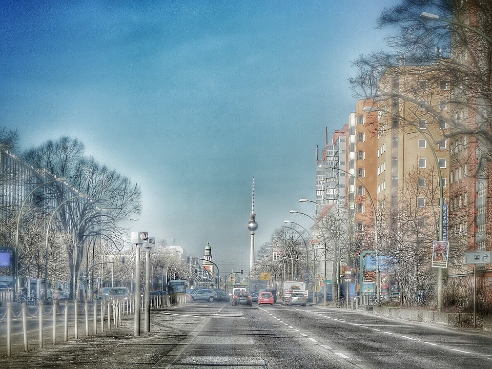 Berlin, Tv Tower, Capital, Blitzer, Landmark, Building