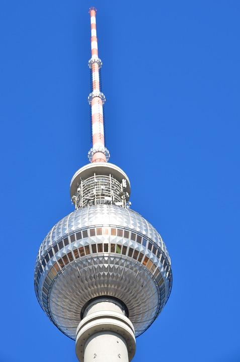 Tv Tower, Berlin, Landmark, Architecture