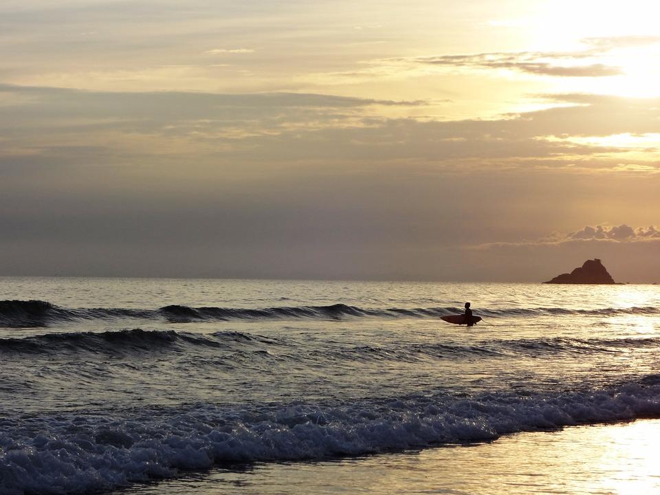 Beach, Holidays, Twilight, Beira Mar