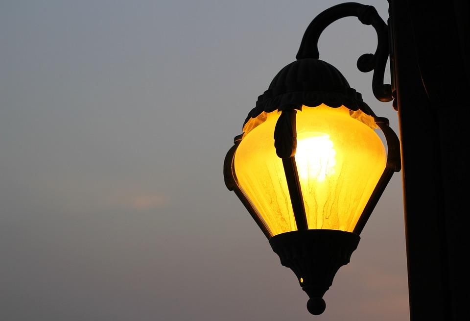 Light, Dusk, Twilight, Night, Lamp, Illuminated