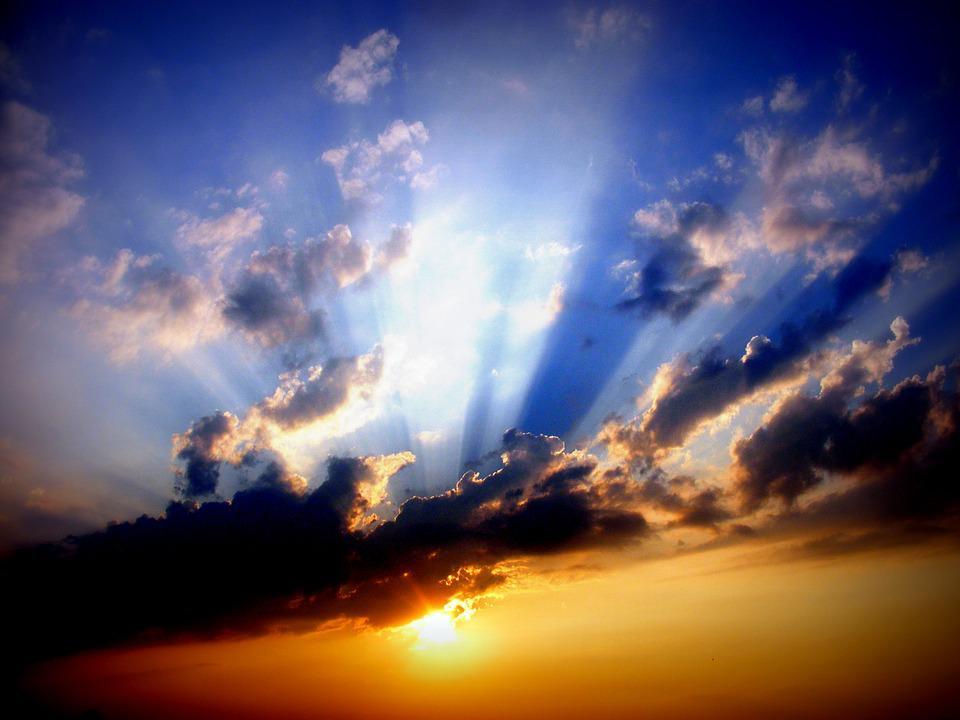 Sunset, Sky, Sun, Cloud, Twilight