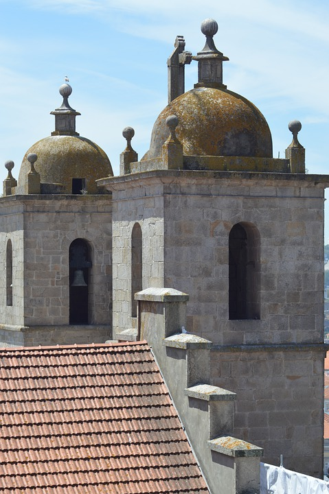 Building, Roof, Dome, Bells, Two, Tours, Cathedral