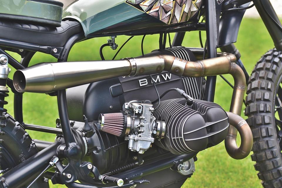 Bmw, Motorcycle, Custom Bike, Two Wheeled Vehicle