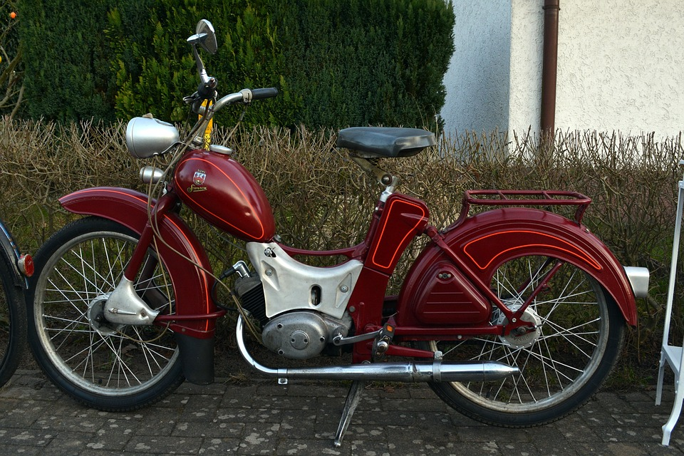 Essigpisser, Moped, Two Wheeled Vehicle, Motorcycle