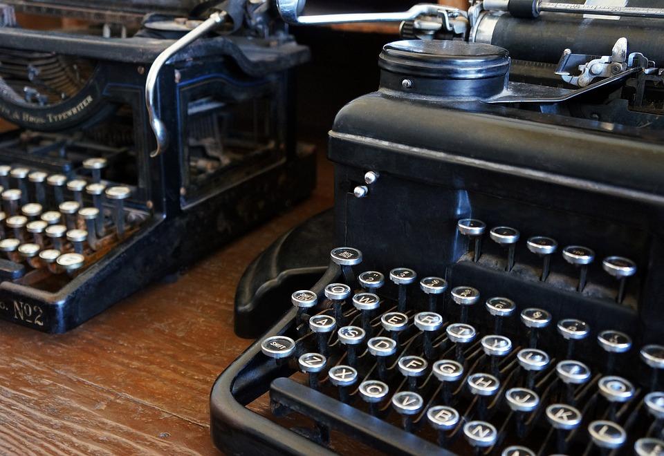 Typewriter, Antique Typewriters, Vintage, Antique
