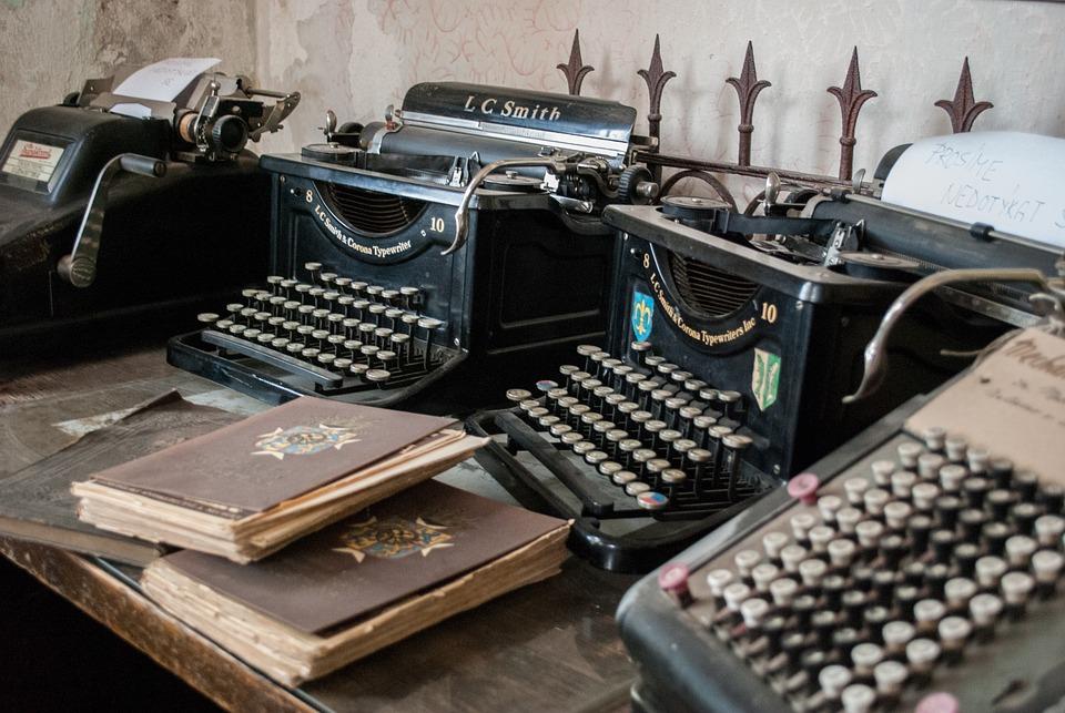 Typewriter, Castle, Renaissance, Architecture