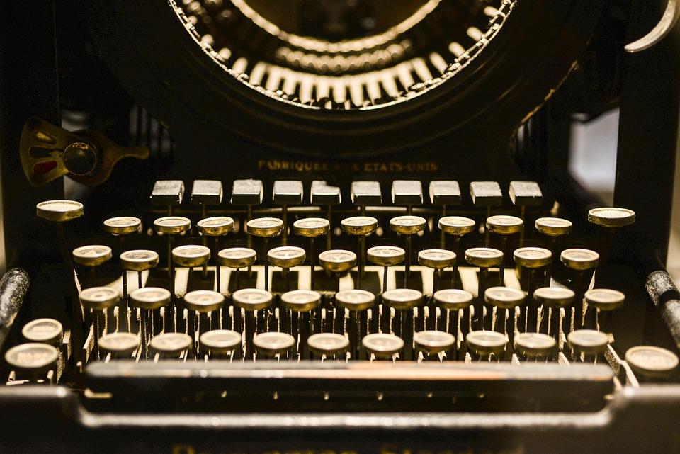 Typewriter, Old, Vintage, Write, Retro, Writer