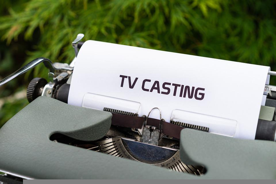 Typewriter, Paper, Television Cast, Casting Show