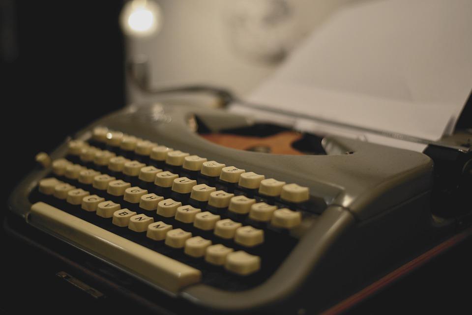 Typewriter, Mechanical, Retro, Write, Writer, Letters