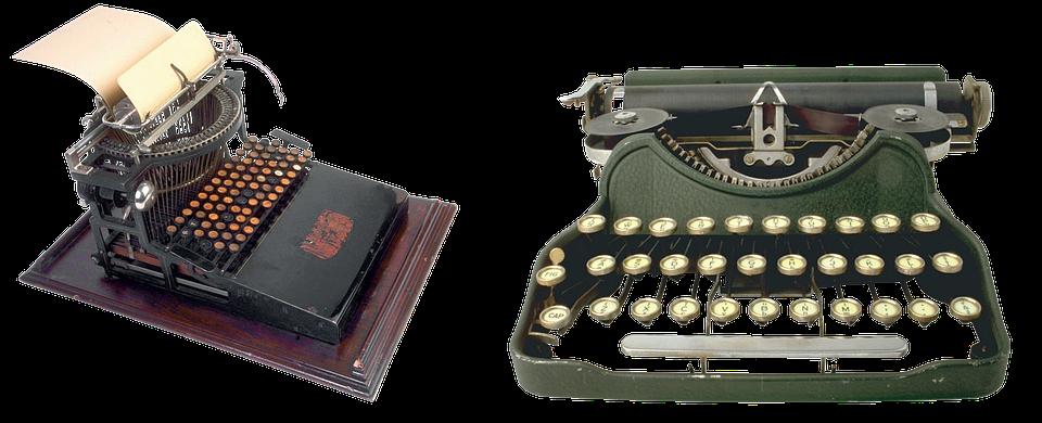 Typewriter, Old, Letters, Print, Keys, Typist, Bureau