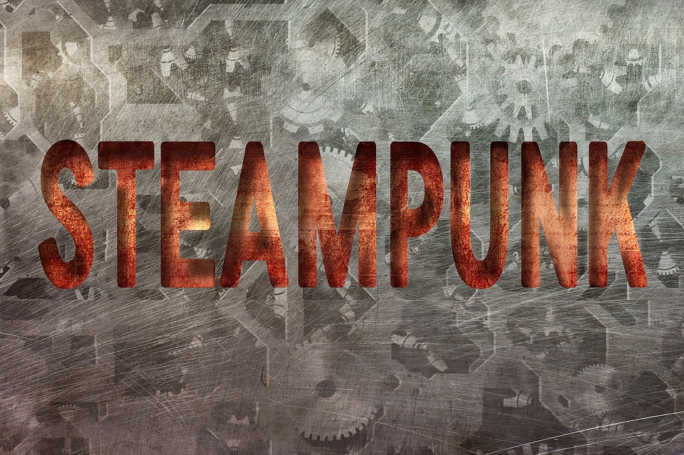 Steampunk, Lettering, Design, Letters, Typography