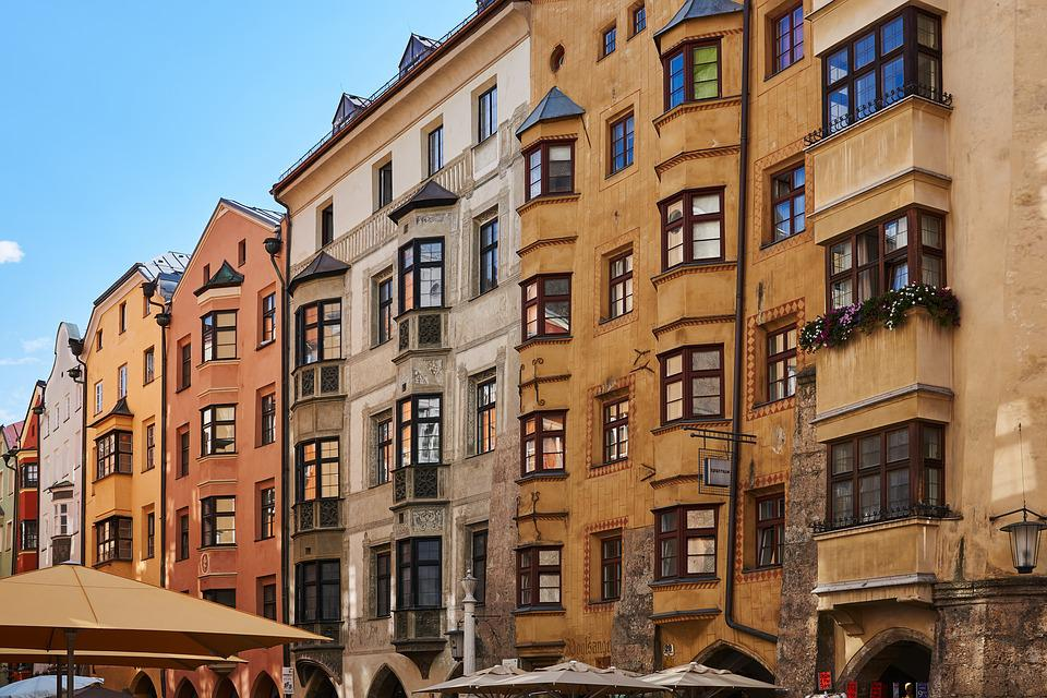 Innsbruck, Historic Center, Tyrol, City, Austria