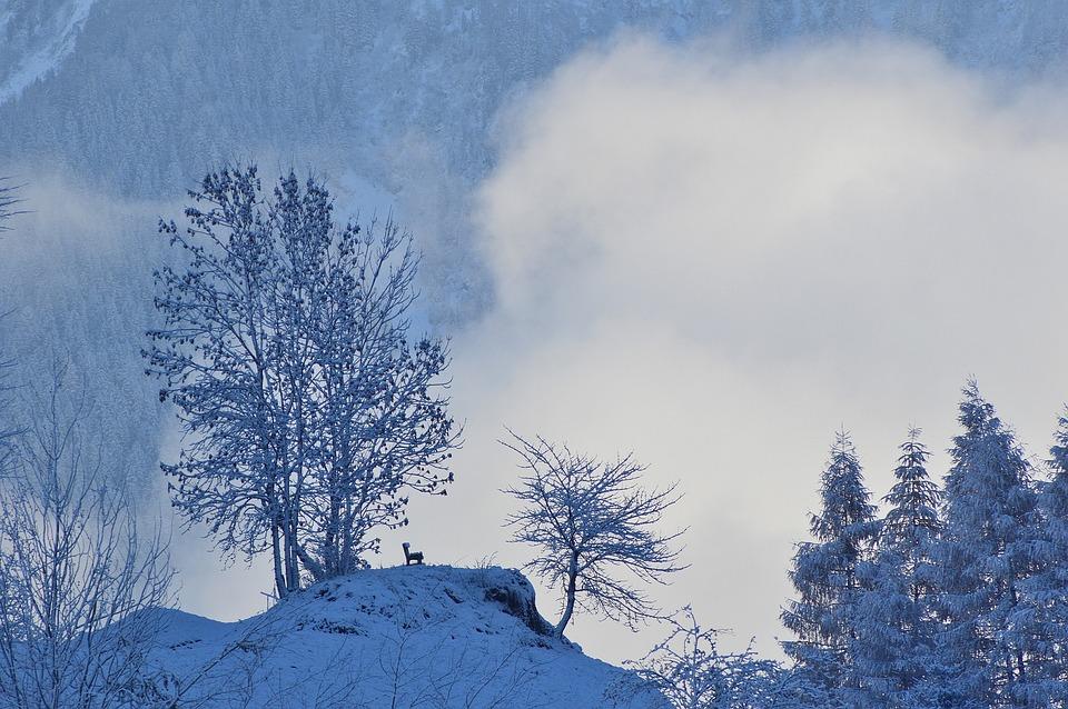 Winter, Snow, Haderlehn, Sautens, Oetztal, Tyrol