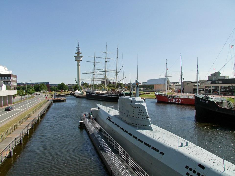 Harbour Museum, U Boat, Boot, Ship, Maritime Museum