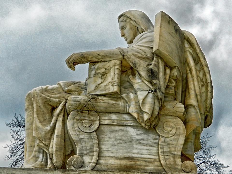 Contemplation Of Justice, U S Supreme Court, Sky