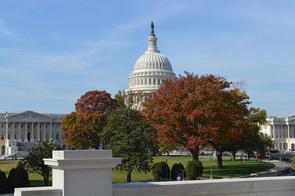 U, S, Capitol, Washington D, C, Autumn, Government