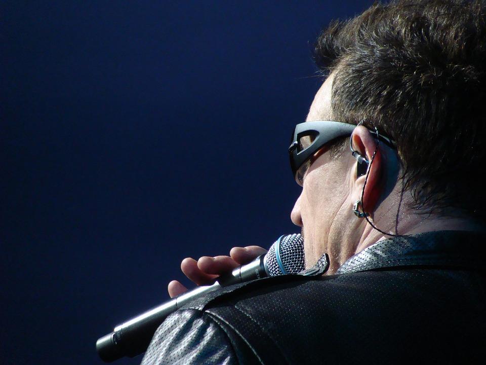 Paul David Hewson, Singer, Bono, U2, Man, Person