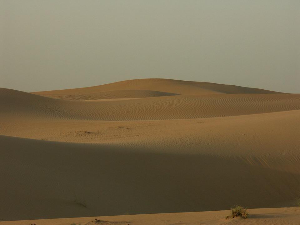 Desert, Sand, Dunes, Dubai, Uae, Sahara