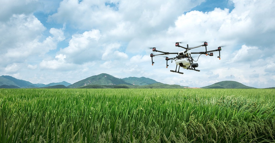 Free photo Uav Agriculture Farming Plant Protection Drone Dji ...