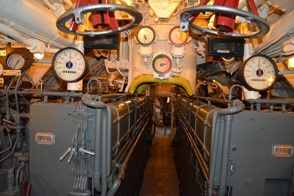 Sub, German, Uboat, Military, War, Ww2