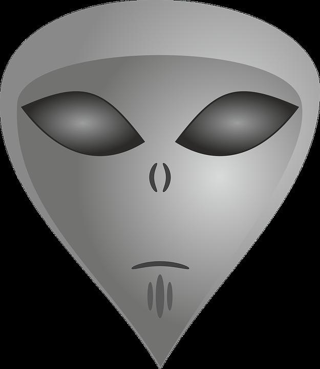 Extraterrestrial, Alien, Alie, Ufo, Area 51, Mars Male